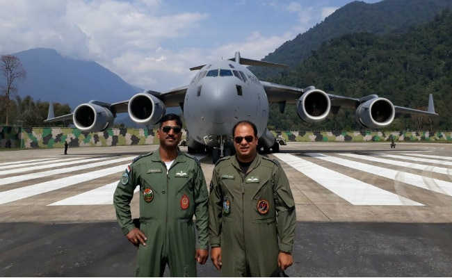 Air Force Lands Its Largest Transport Aircraft In Arunachal Pradesh's Tuting