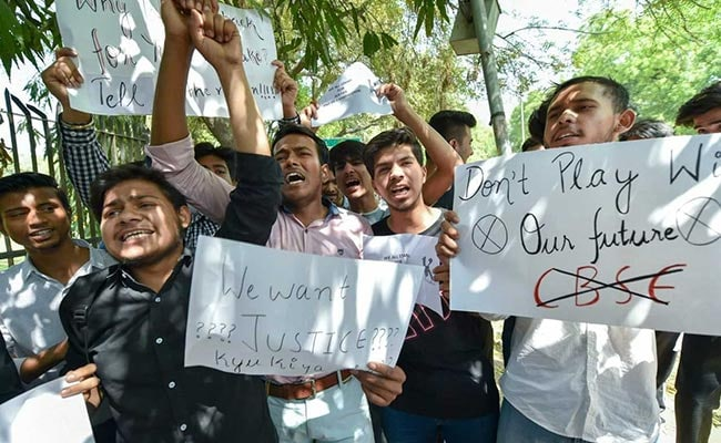 cbse protests pti 650