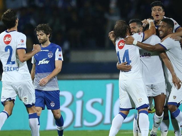 Indian Super League 2018: Chennaiyin FC Beat Fancied Bengaluru FC to Lift Trophy
