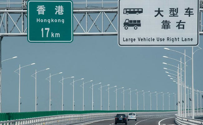 World's Longest Sea Bridge In China Has Steel To Build 60 Eiffel Towers
