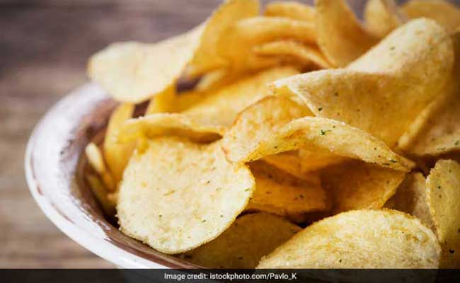 Video: Quick And Easy Spicy Indian Chips Recipe For Snacking