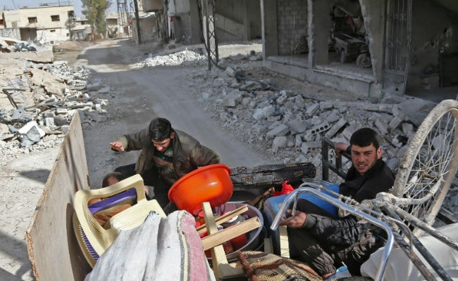 US Calls On Russia To Pressure Syrian President Assad To Allow Citizens To Flee In Ghouta