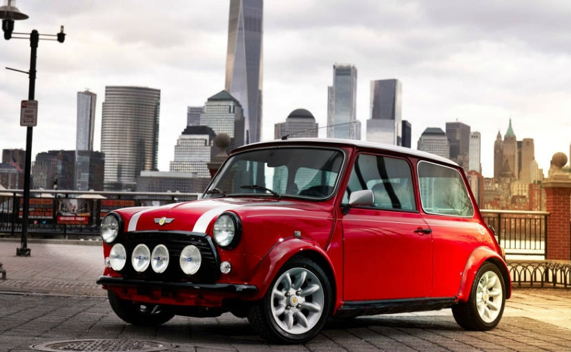 New York Auto Show Classic MINI Electric Unveiled Is Every - Classic mini car