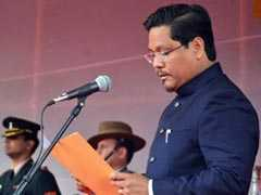 Conrad Sangma, With 11 Ministers, Takes Oath As Meghalaya Chief Minister