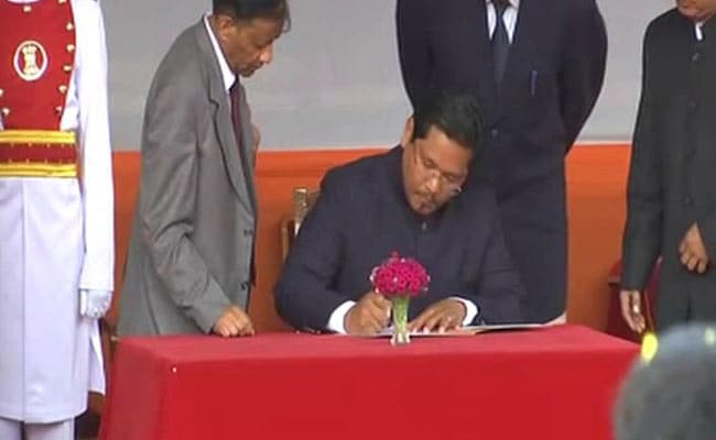 Conrad Sangma Takes Oath As Meghalaya Chief Minister: Highlights