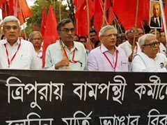CPM Leaders Out On Kolkata Streets After Lenin Statues Razed In Tripura