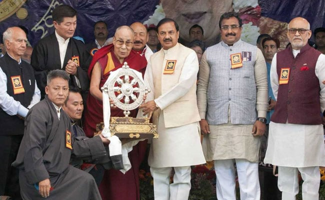 dalai lama event mahesh sharma pti