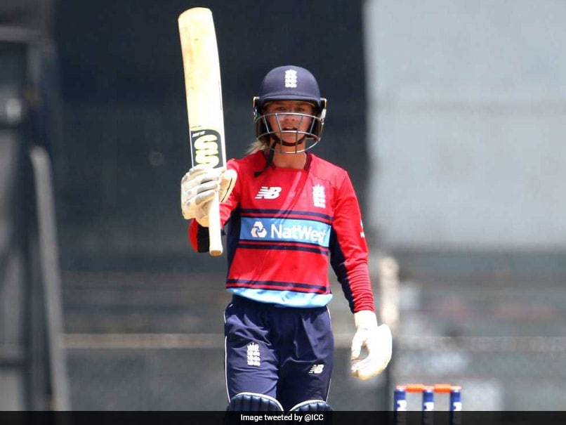 Daniellie Wyatt Hits Ton Guiding England Women To 7-Wicket Win Over India
