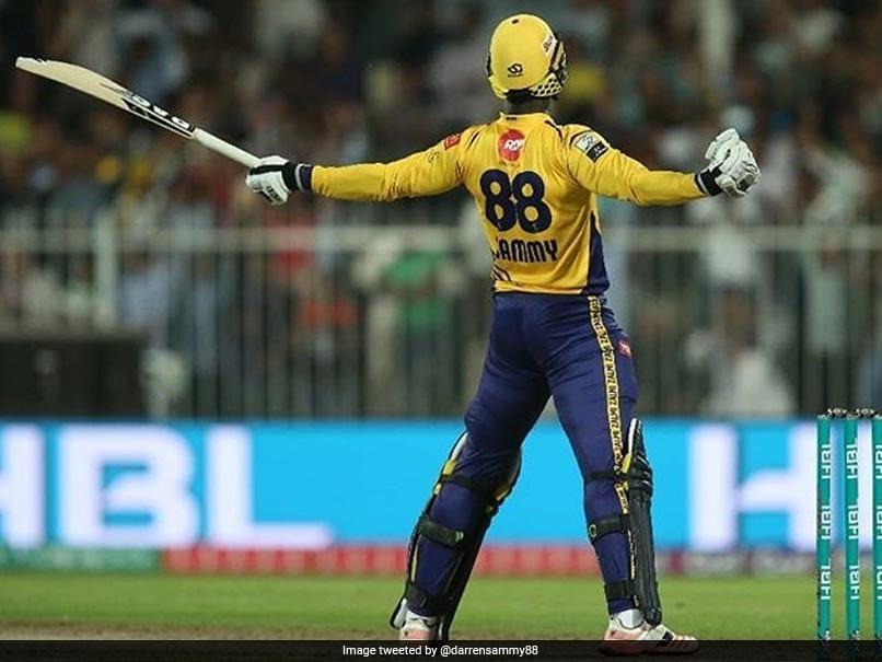 Watch: Darren Sammy Steers Peshawar Zalmi To Thrilling Win. On One Leg!