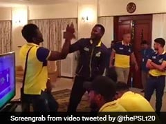 Watch: Peshawar Zalmi Skipper Darren Sammy Shows Off Rapping Skills Ahead Of PSL 2018 Final