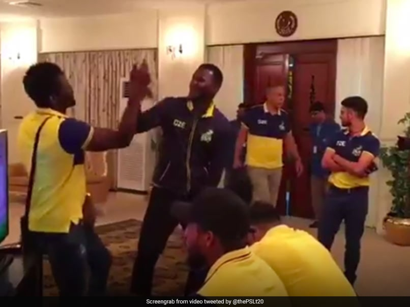 Watch Peshawar Zalmi Skipper Darren Sammy Shows Off Rapping Skills Ahead Of PSL 2018 Final