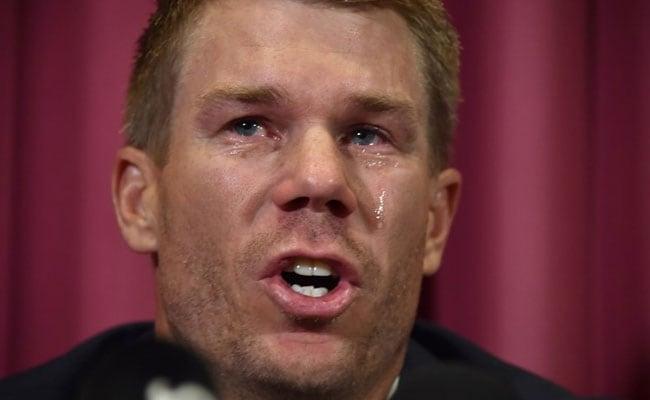 स्टीव स्मिथ के बाद अब डेविड वॉर्नर ने भी रोते हुए मांगी माफी, स्वीकार की यह बड़ी बात