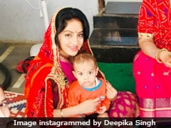 Inside <i>Diya Aur Baati Hum</i> Actress Deepika Singh's Gangaur Celebrations