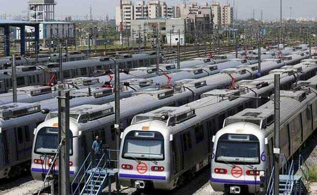 Train Sent For Repairs After Technical Snag On Delhi Metro's Magenta Line