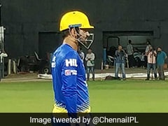 Watch: MS Dhoni Gets In The Groove For Indian Premier League 2018