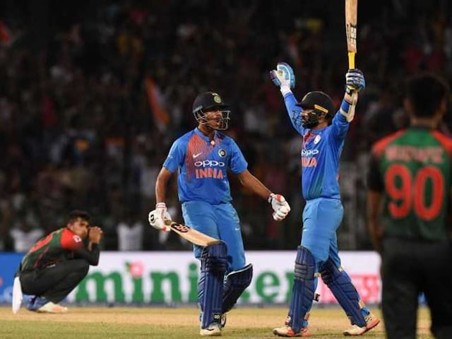 Nidahas Trophy Final: Rohit Sharma Reveals Why He Did Not See Dinesh Karthiks Last-Ball Six