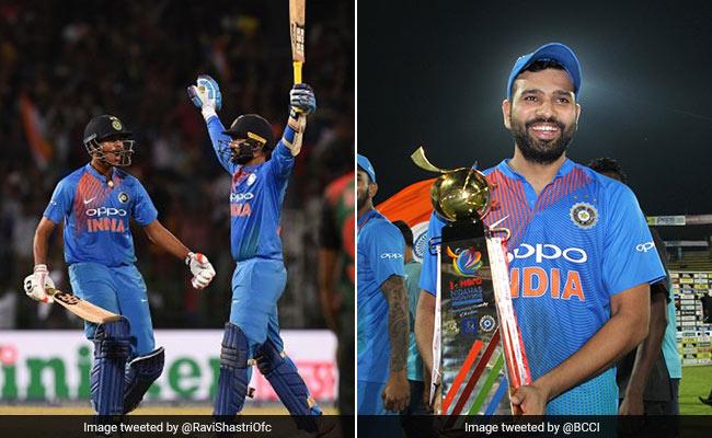 Nidas Trophy Final: इस बात से खफा थे दिनेश कार्तिक,  रोहित शर्मा का जवाब क्रिकेटप्रेमियों को हजम नहीं हो रहा