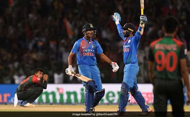 Nidahas Trophy, India vs Bangladesh, Final: टीम इंडिया ने छीनी बांग्लादेश से जीत, देखें आखिरी ओवर का रोमांच
