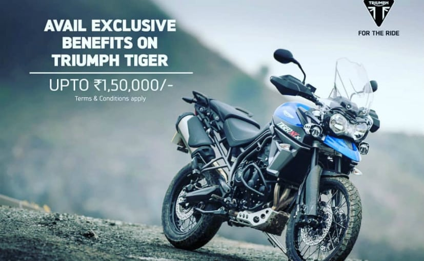 discounts on tiger 800
