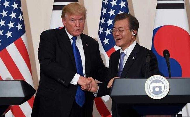 Donald Trump, Moon Jae-in Discuss North Korea's Threat To Scrap Summit