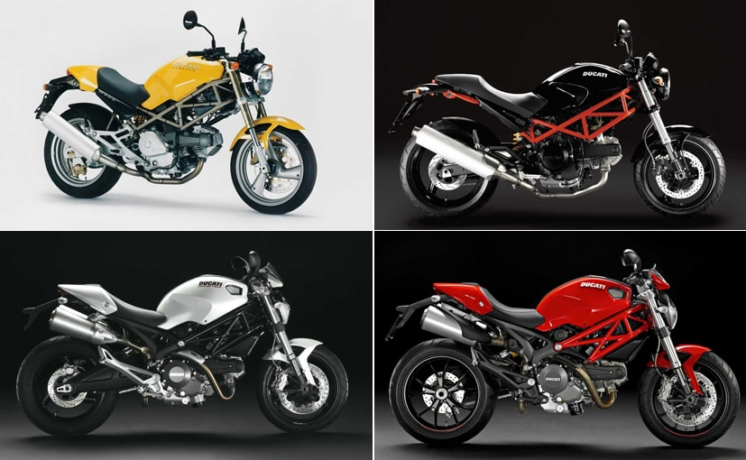 Ducati Monster Completes 25 Years A Look At The Iconic