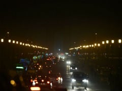Earth Hour Observed At Parliament, India Gate