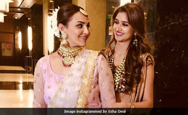 Esha Deol Bonds With Sister-In-Law At Family Wedding. See Pic