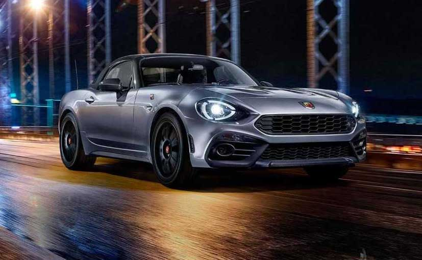 Abarth 124 GT revealed with hard top…can be removed