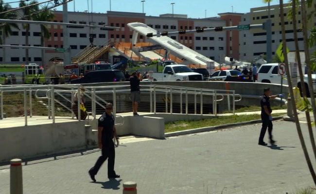 florida bridge collapse afp 650