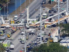 Several killed in Florida University footbridge collapse, say reports: news agency Reuters