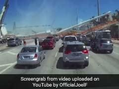 Watch: Dashcam Video Of Florida Bridge Collapse That Crushed 6