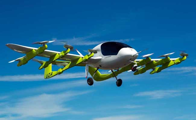 Google Cofounder's Flying Taxi Takes To The Skies In New Zealand
