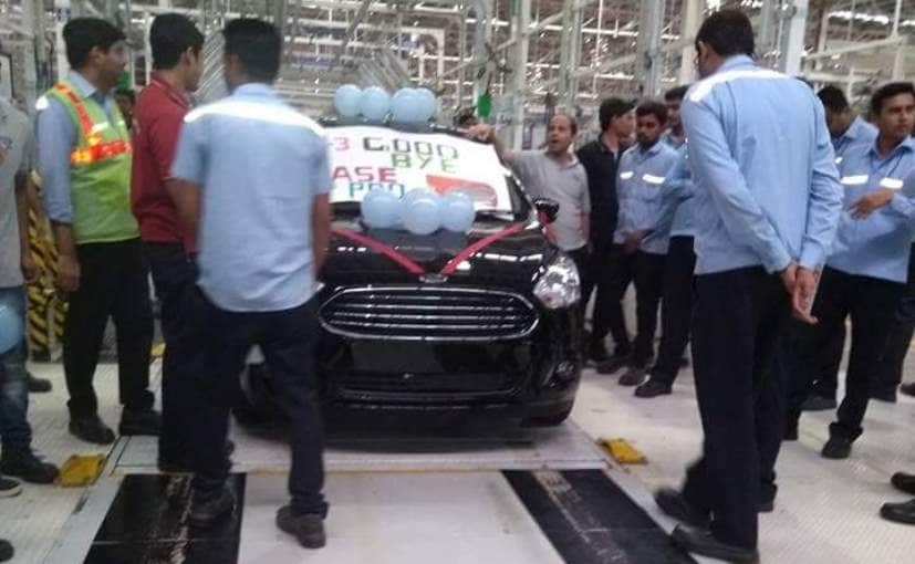 The leaked images indicate that Ford has made over 3 lakh units of the Aspire at the Sanand plant