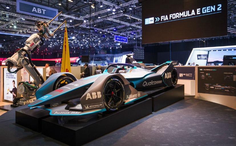 The FIA Formula E Gen2 car made its public debut at the Geneva Motor Show 2018