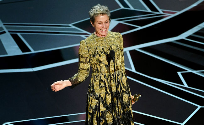 Oscars 2018: Frances McDormand Wins Best Actress For Three Billboards