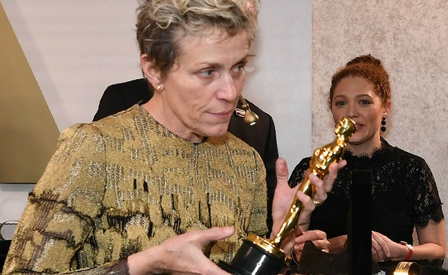 Frances McDormand's Best Actress Oscar Briefly Stolen At Party