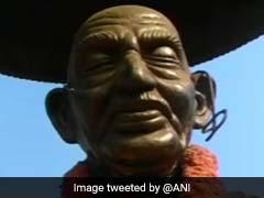 In Kerala, Gandhi Statue Damaged; Ambedkar's Statue Splashed With Paint In Tamil Nadu