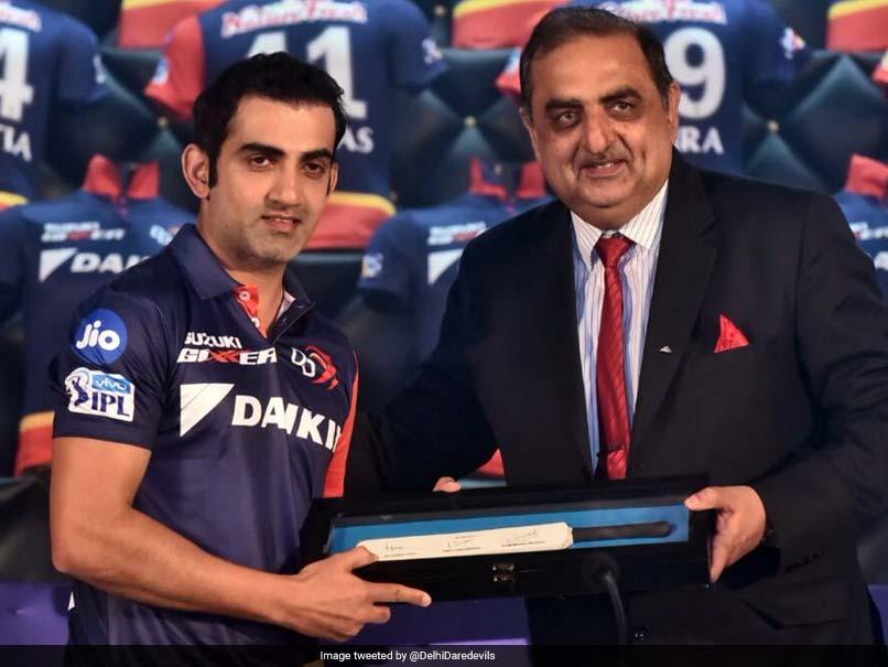 Indian Premier League 2018: Gautam Gambhir Named Delhi Daredevils Captain