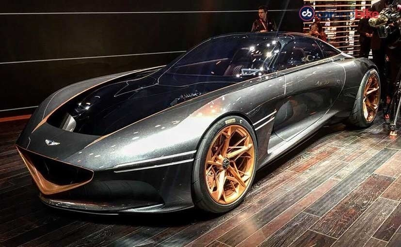 New York Motor Show 2018 Genesis Essentia Concept Showcased Ndtv