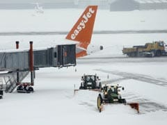Geneva Airport Reopens After Icy 'Beast From The East'