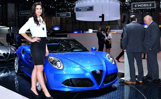 After #MeToo, 'Booth Babes' On Verge Of Extinction At Motor Show