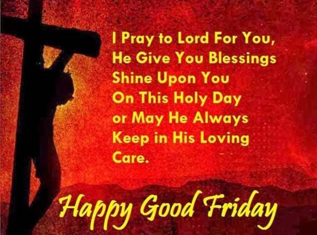Happy Good Friday 2018 Images Quotes Messages Greetings