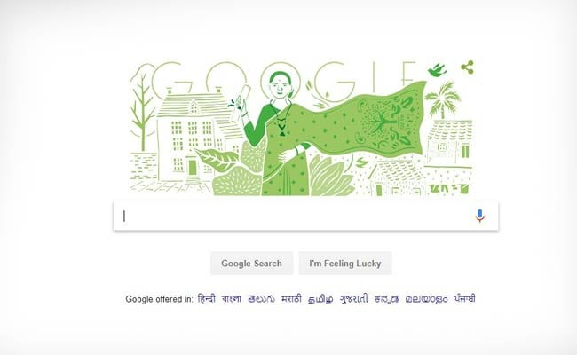 Google celebrates doctor Anandi Gopalrao Joshi's 153rd birthday with sketch doodle
