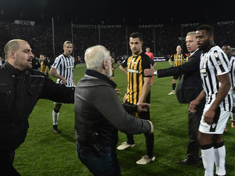PAOK Owner Ivan Savvidis Wanted By Greek Police For Invading Pitch With A Gun