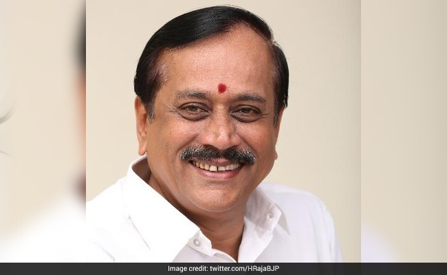 BJP Leader H Raja To Face Contempt Proceedings For 'Derogatory Remarks'