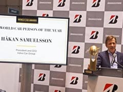 Hakan Samuelsson Receives First-Ever World Car Person Of The Year Award