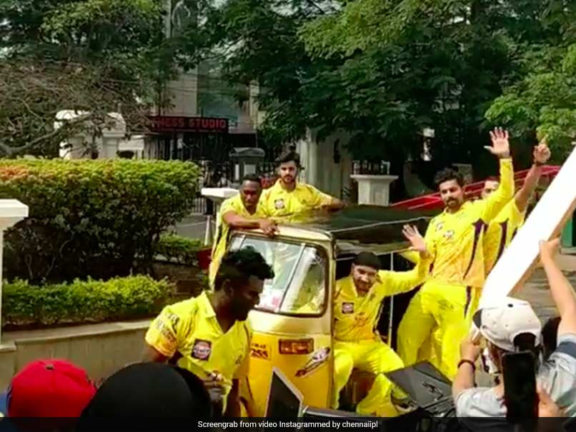 Harbhajan Singh introduces 'bhangra' to Chennai Super Kings, watch video