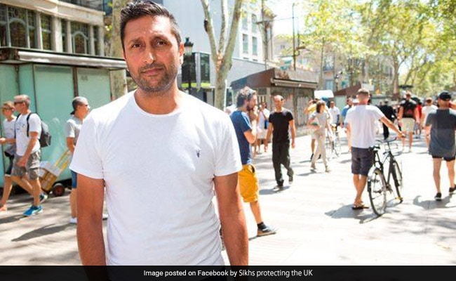 British Indian Man Gets Award For Helping Injured Boy In Barcelona Attack