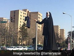 """Women In Iran Are Pulling Off Their Headscarves, Hoping For """"Turning Point"""""""
