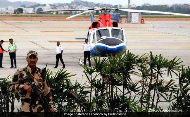 Now, Fly From Bengaluru Airport To City On This HeliTaxi